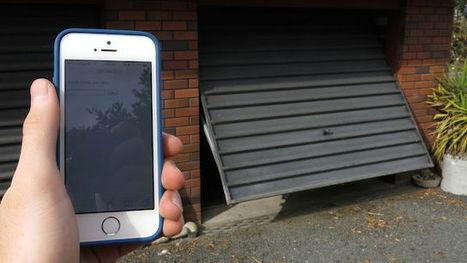 Build a Smartphone Connected Garage Door Opener with an Arduino | translation | Scoop.it