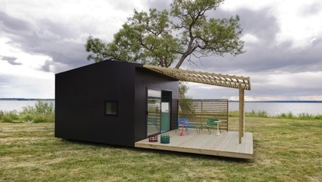 Sweden's Mini House 2.0 offers speed, sustainability and style in spades | Pre Fab Homes | Scoop.it