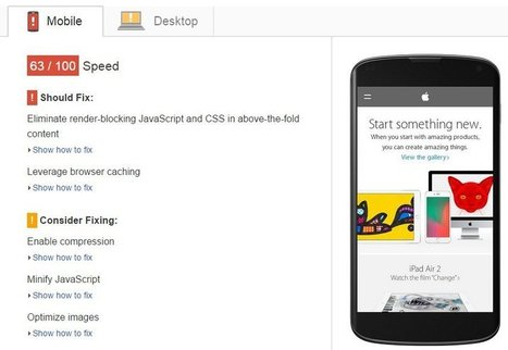 Optimizing for the Mobile Web - Eyeflow Internet Marketing | Online tools for small business | Scoop.it
