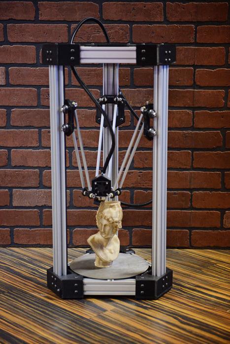 DeltaMaker, une nouvelle imprimante 3D sur Kickstarter | Actinnovation© | Fourre tout Numerik | Scoop.it
