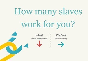 What is your slavery footprint ? A new app can tell you. | All Geeks | Scoop.it