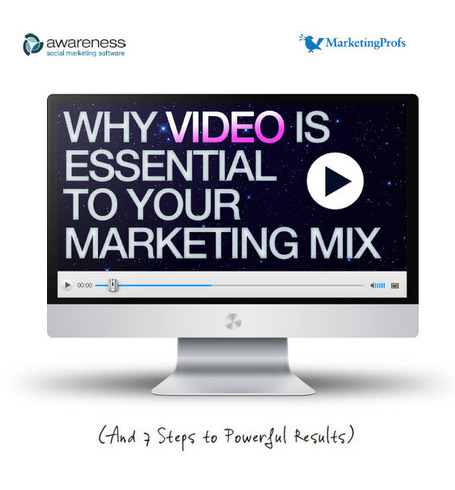 Why Video Is Essential To Your Marketing Mix (And 7 Steps to Powerful Results) | Surviving Social Chaos | Scoop.it