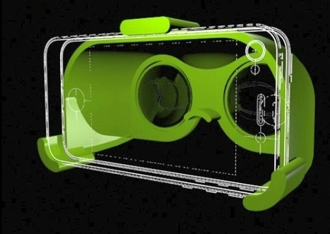3D printed VR2GO for viewing 3D content on iPhone 5 | DamnGeeky | DamnGeeky | Scoop.it