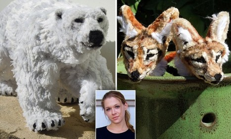 The magnificent animal sculptures made entirely from PIPE CLEANERS | Patrick's scoops | Scoop.it