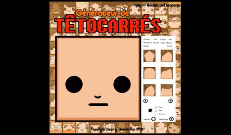 Générateur de Têtocarrés | CRÉER - DESSINER EN LIGNE | Scoop.it