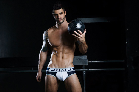 PUMP UNDERWEAR PHOTO SHOOT BY PHOTOGRAPHER RICK DAY | THEHUNKFORM.COM | Scoop.it