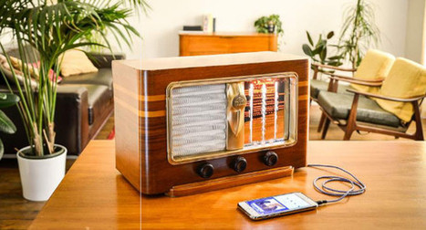 Charlestine : retour du charme des postes TSF, le Bluetooth en plus | ON-TopAudio | Scoop.it
