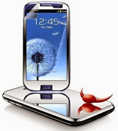 """Protect your Samsung Galaxy S3 with """"Mirror Screen Protector"""" this Christmas ~ Latest Cell phones 