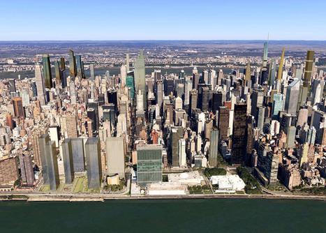 New York's 2018 Skyline Revealed in New Visualizations | visual data | Scoop.it