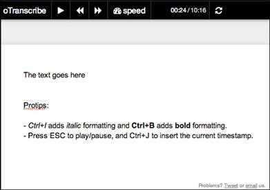 Periodista crea app web que facilita la transcripción de audio a texto | Herramientas digitales | Scoop.it