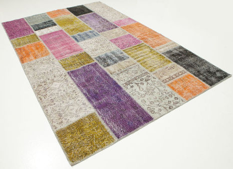 A patchwork carpet from Turkey | Photos for making mood boards | Scoop.it