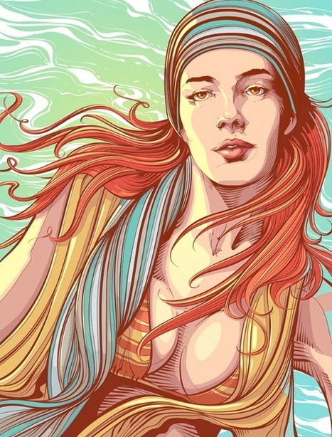 Stunning Vector Art by Cristiano Siqueira | Photoshop Photo Effects Journal | Scoop.it