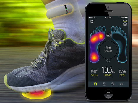 Sensoria Is A New Smart Sock That Coaches Runners In Real Time | Wearables | 21st Century Innovative Technologies and Developments as also discoveries, curiosity ( insolite)... | Scoop.it
