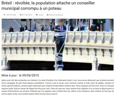 "L'hypocrisie de la ""réinformation"" 