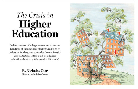 The Crisis in Higher Education | MIT Technology Review | education | Scoop.it