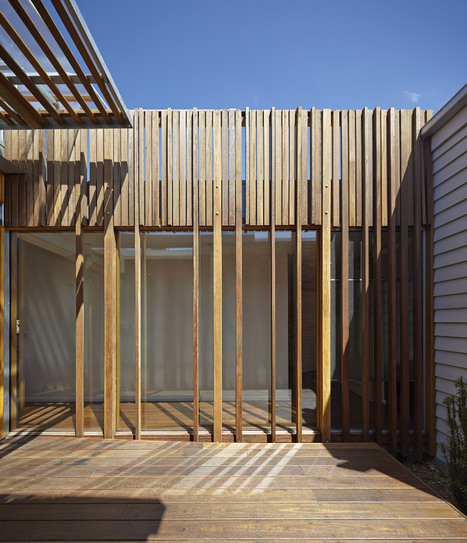Retractable Roof House Kinetically Adapted to the Climate of Melbourne | Reuse | Scoop.it