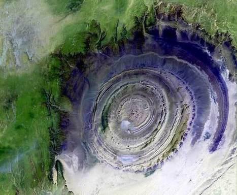 """La estructura de Richat. """"El ojo del Sahara""""   Noticias y Blogs de Viajes   Scoop.it"""