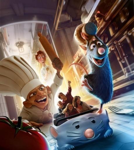 Le 10 juillet Disneyland Paris lance l'attraction Ratatouille avec un restaurant Paul Bocuse   Food & chefs   Scoop.it