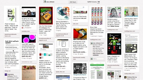 700 iPad Lessons Pinned HERE!!! | Technology for Teachers and Students | Scoop.it