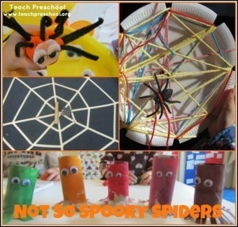 Not so spooky spiders | Teach Preschool | English resources for Primary and Secondary | Scoop.it