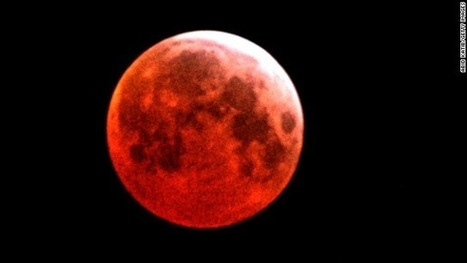 Photos Images of Blood Moon lunar Eclipse. Video Of Blood Moon Occurred On Wednesday 8th October 2014   How to mention all your facebook friends by only one click?   Scoop.it