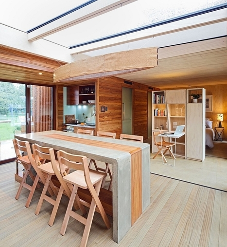 27 Ingenious Dining Rooms that Tap into the Brilliance of Skylights! | Inspired By Design | Scoop.it