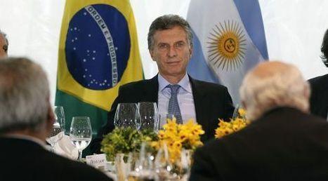 Macri aboga en su visita a Rousseff por revitalizar Mercosur | limes | Scoop.it