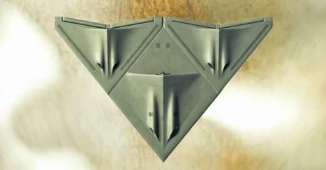 Military Researchers Design Real-life 'Transformer' Plane | Atif Unaldi's Daily Technology Topics | Scoop.it