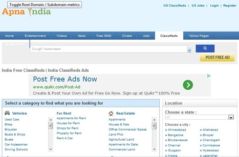 India Free Classifieds - India Classifieds Ads- apnaindia.com   India Free Classifieds   USA Free Classifieds   india yellow pages   Scoop.it