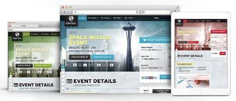 Alerion Joomla Event Management / Public Speaker Template | Premium Joomla Templates | Scoop.it