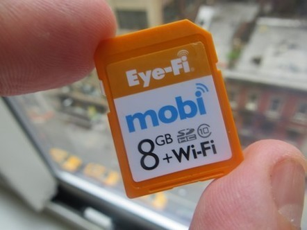 Hands-on with Eye-Fi Mobi | Labor & Social Media | Scoop.it