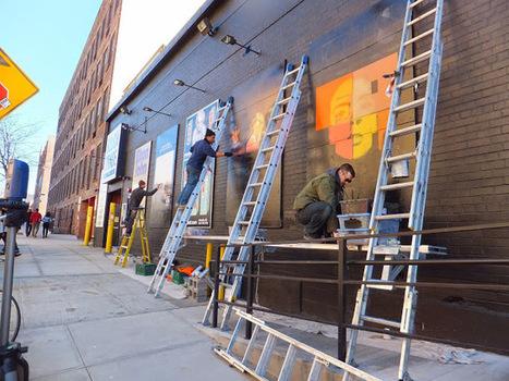 Rough Trade en Williamsburg, Brooklyn. Street art in motion | Universo de Viajes | Scoop.it