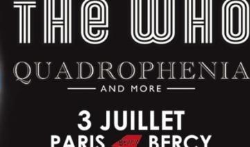 Alerte Billetterie: The Who et ASAP Rocky | concertlive.fr | Concertlive | Scoop.it