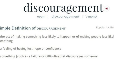 Tony Guthrie Shares: How to Deal with Discouragement | Sermon Planning | Scoop.it