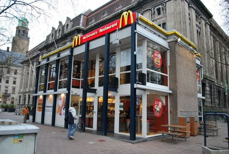 This might be the fanciest McDonald's in the world | #CRE Commercial Real Estate | Scoop.it