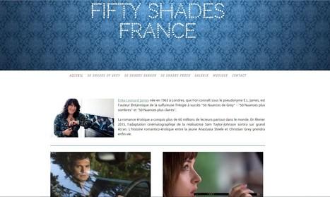 Nouveau design pour le site de Fifty Shades France donnez-nous votre avis ! | FiftyShadesFrance | Scoop.it