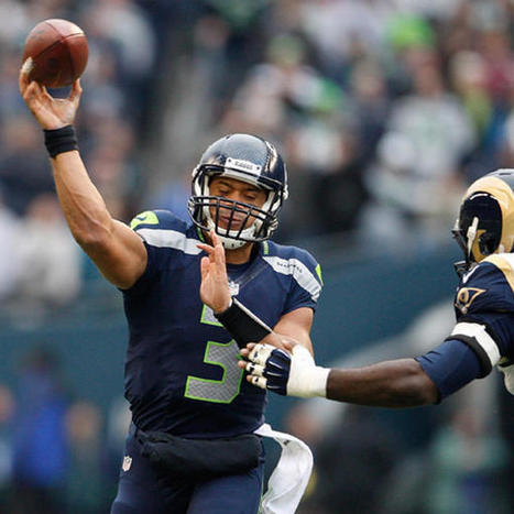 Seattle's Russell Wilson ties Peyton Manning's rookie record for touchdown passes - Yahoo! Sports (blog) | Amazing Rare Photographs | Scoop.it