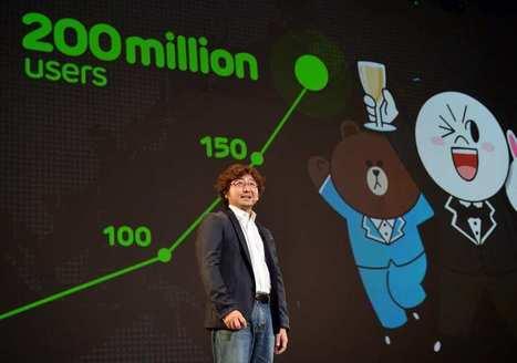 Line, la messagerie instantanée japonaise, entrera en Bourse à l'automne | Revue des médias | Scoop.it