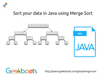 Merge Sort in Java   Learn programming with examples   Scoop.it