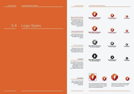 Logo and Brand Identity Guidelines Template for Download | Graphisme, Web & Technologie | Scoop.it