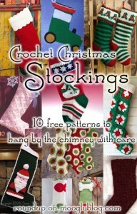 Crochet Christmas Stockings: 10 Free Patterns to Hang This Year! | Crochet Patterns for Christmas Stockings | Scoop.it