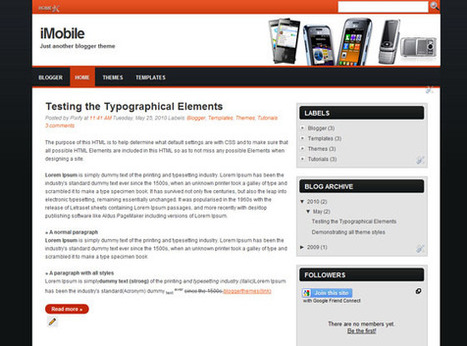 iMobile | Ngoding | Blogger themes | Scoop.it