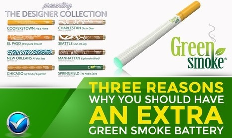 Three Reasons To Have An Extra Green Smoke Battery | Topics We Found Useful & Interesting | Scoop.it