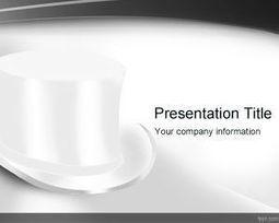 Plantilla PowerPoint de sombrero blanco   Plantillas PowerPoint Gratis   Plantilas PowerPoint   Scoop.it