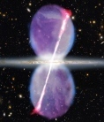 Ghostly jets seen streaming from Milky Way's core   Amazing Science   Scoop.it