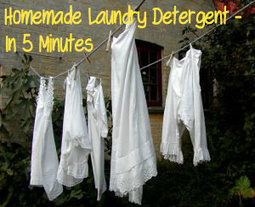 How to Make Homemade Laundry Detergent – In 5 Minutes | Natural Alternative Therapies | Scoop.it