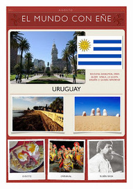 Aprender español con Delearte: El Mundo con Eñe: Uruguay (N.7) | ELE Spanish as a second language | Scoop.it