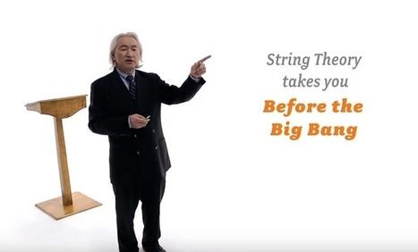 Michio Kaku & Brian Green Explain String Theory in a Nutshell: Elegant Explanations of an Elegant Theory   Tudo o resto   Scoop.it
