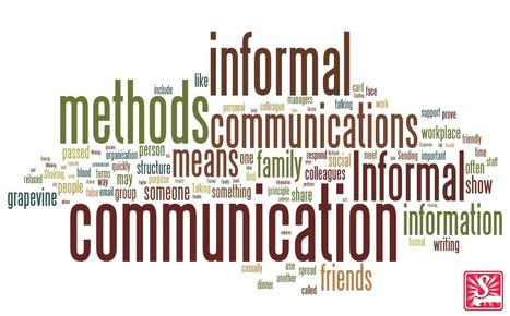 Formal versus Informal Communication Methods | Workplace Communication - INDPA | Scoop.it