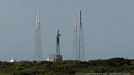 Falcon 9 explosion narrowed to helium system failure | The NewSpace Daily | Scoop.it